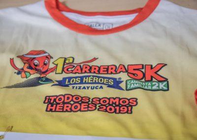1a Carrera 5K los Héroes Tizayuca